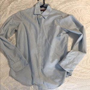 Vineyard vines button down whale dress shirt